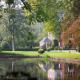 Het Domein 't meersdael met prachtige villa, vijver en groot en mooi park, ideaal voor huwelijksfotograaf en bruidspaar voor huwelijksfotografie