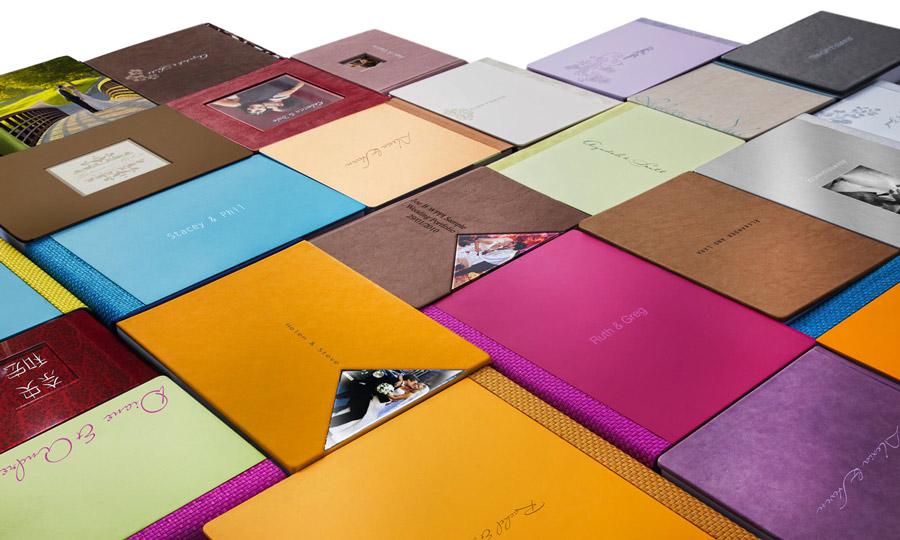 het huwelijksalbum kan besteld worden in verschillende kleuren, formaten en afwerkingen, huwelijksalbum, huwelijksfotograaf, kwaliteit