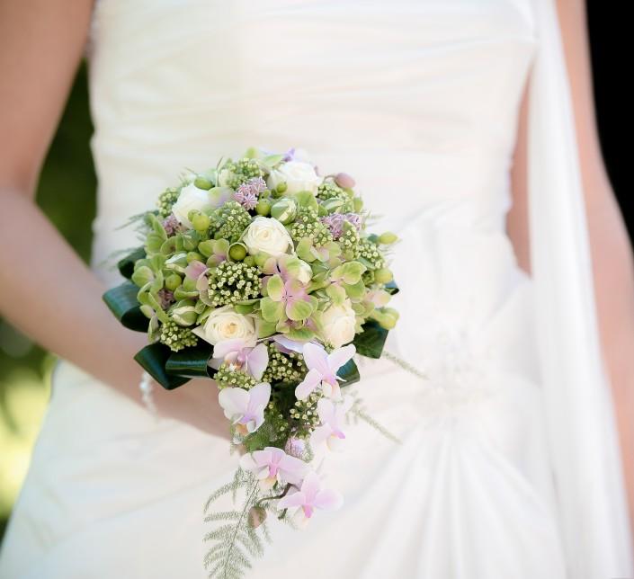 foto van het boeket bloemen huwelijksboeket huwelijksfotografie huwelijksfotograaf